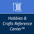 Square Icon Logo for the Hobbies & Crafts Reference Center